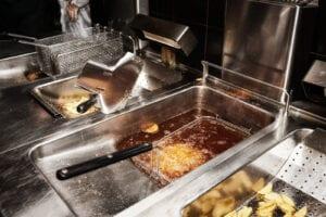 Deep Fryer cleaning, restaurant kitchen cleaning