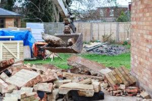 Small scale demolition job