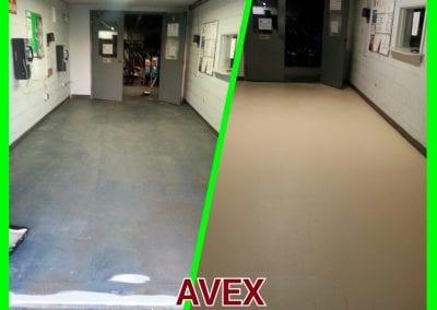 AVEX EPOXY FLOOR PAINTING