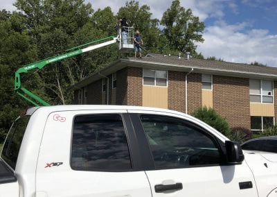 AVEX Commercial Window Cleaning Apartment Building