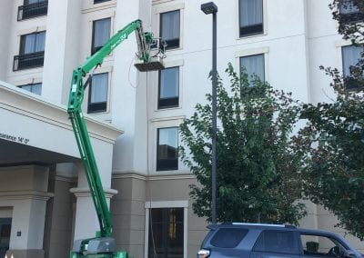 AVEX Commercial Window Cleaning Hotel