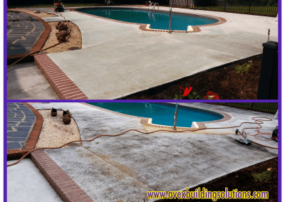 AVEX Pressure Washing Pool Concrete
