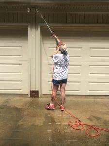 AVEX Pressure Washing Garage