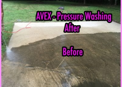AVEX Pressure Washing Patio