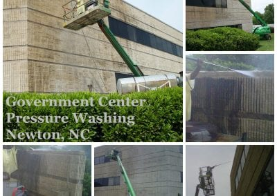 AVEX Pressure Washing Commercial Building
