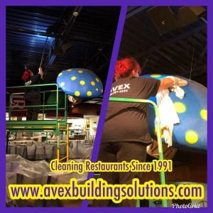 AVEX Ceiling Cleaning