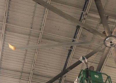 AVEX Industrial Fan Cleaning